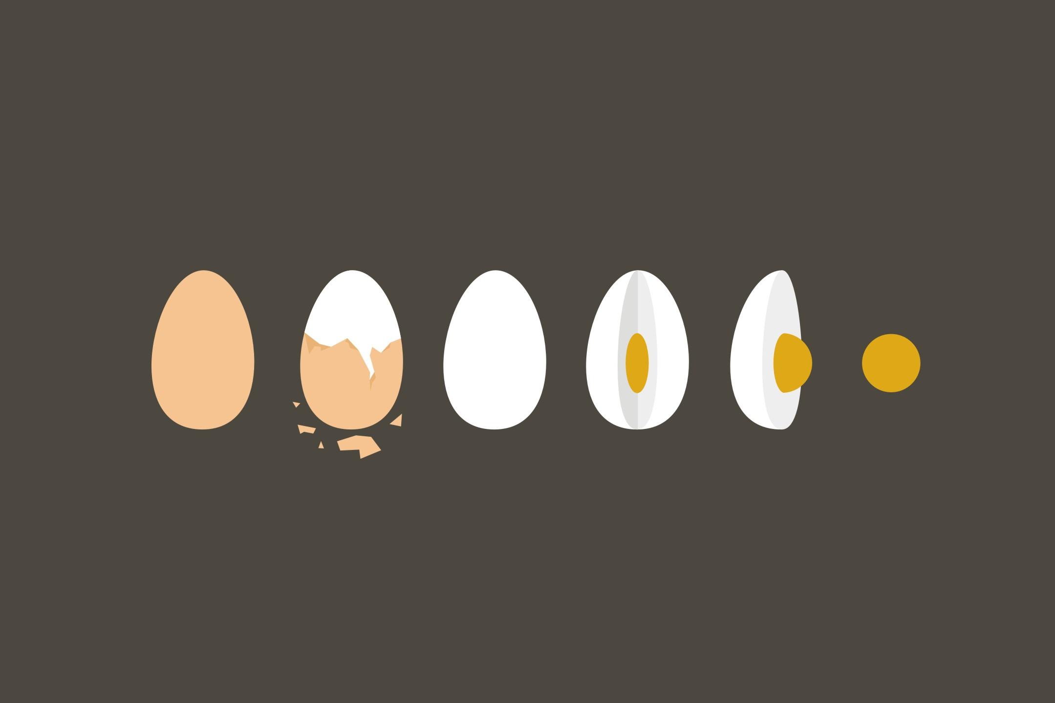 Merebus telur tanpa air, bagaimana caranya?