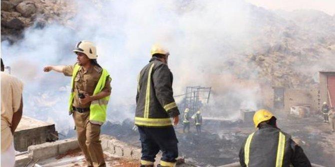Hotel dihuni jamaah calon haji Indonesia terbakar karena rice cooker