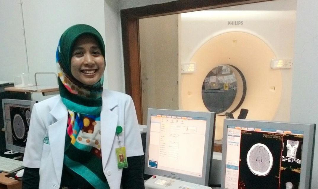 Jangan takut jadi dokter radiologi, dr Prasasti juga enjoy kok!