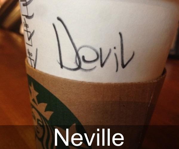 Nama-nama salah tulis dari barista Starbucks, menggelikan!