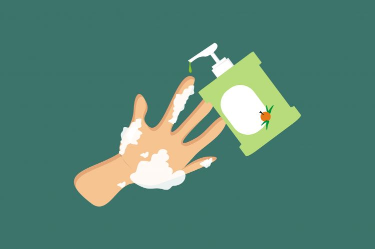 Efektivitas sabun antibakteri tidak jauh beda dibanding sabun biasa