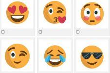 Wow, emoji yang sering kamu pakai bisa gambarkan kondisi percintaanmu