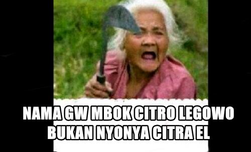 Nggak biasa dipanggil Nyonya, 'Mbok' Citro Legowo kesal!