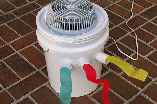 Langkah mudah membuat sendiri AC ruangan, nggak bakal kegerahan lagi!