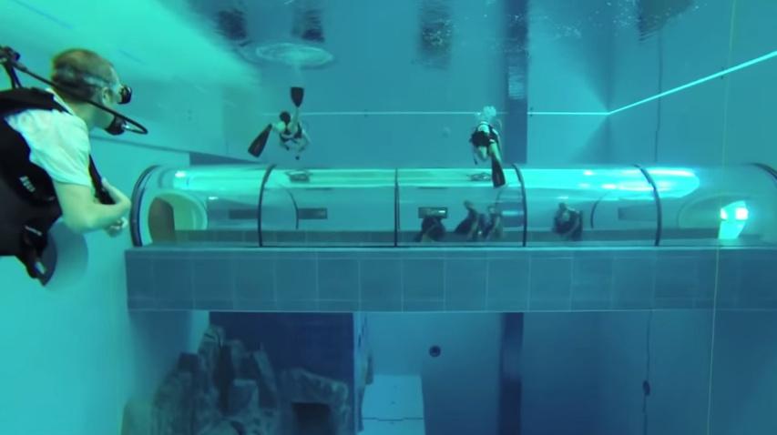 Kolam renang di dunia yang harus dicoba, ada juga renang bareng hiu