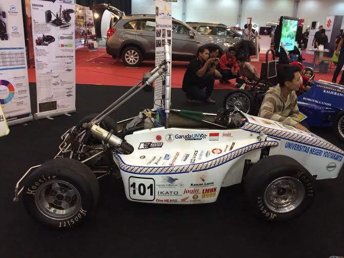 Mobil rancangan anak muda Indonesia ini diakui dunia
