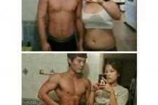 Saling dukung, pasangan ini sama-sama mampu turunkan berat badan