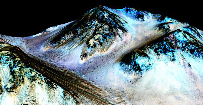 NASA konfirmasi tanda-tanda air mengalir di Mars