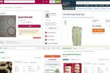 Fasilitasi jual beli produk gading gajah, toko online tuai protes