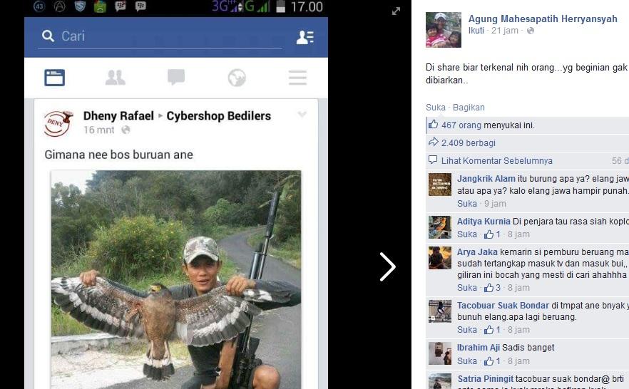 Orang ini dihujat netizen gara-gara pamer hewan buruan