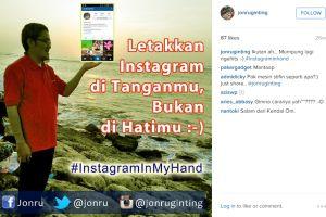 Ternyata Jonru punya hobi fotografi, yuk kepoin Instagramnya
