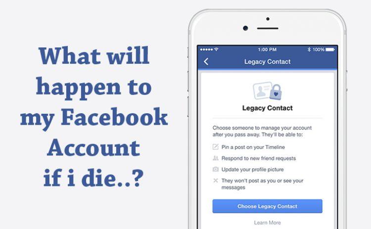 Begini cara mewariskan akun Facebook kalau kamu meninggal nanti