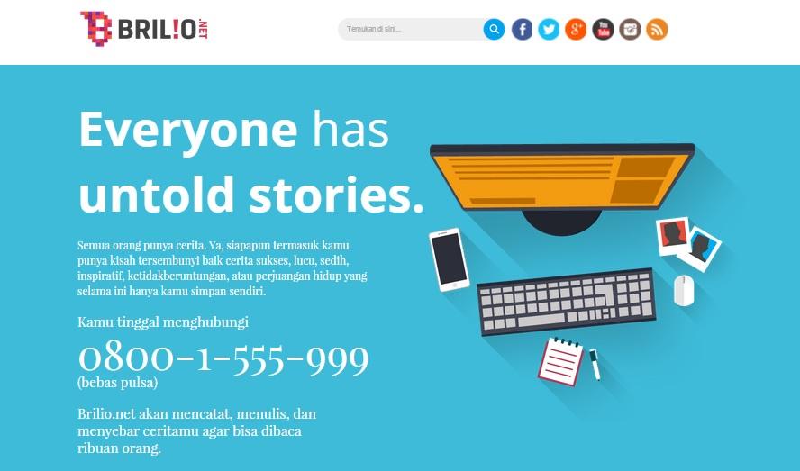 Call 08001555999, bagikan ceritamu