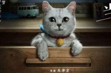 Film Doraemon versi Tiongkok, Doraemonnya kucing beneran, ada ultraman