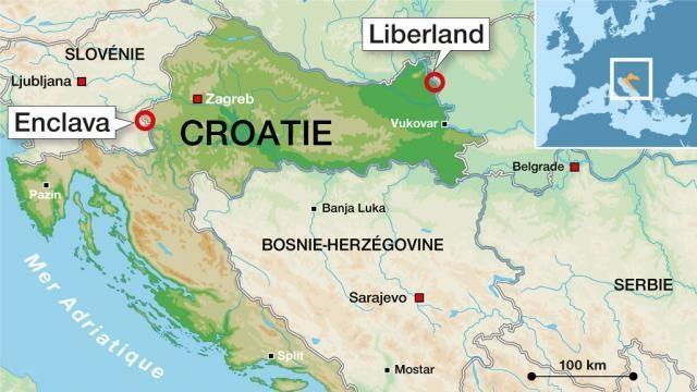 Sebuah negara baru lahir di Eropa, luas wilayahnya cuma 30 km persegi