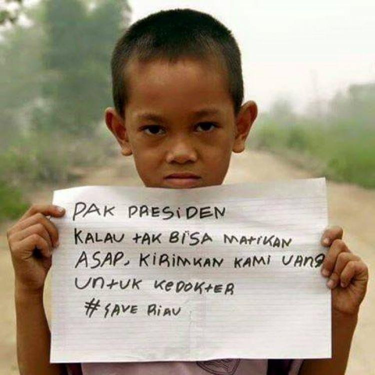 Rindu udara segar, anak-anak di perbatasan ini kirim pesan ke Jokowi