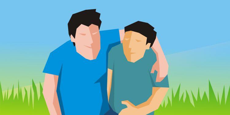 Gara-gara sebiji gorengan, persahabatan dua laki-laki ini retak