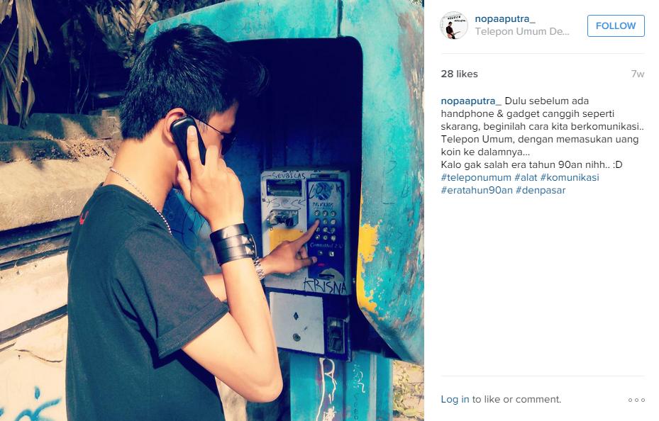 15 Foto ini dijamin bakal bikin kamu kangen sama telepon umum