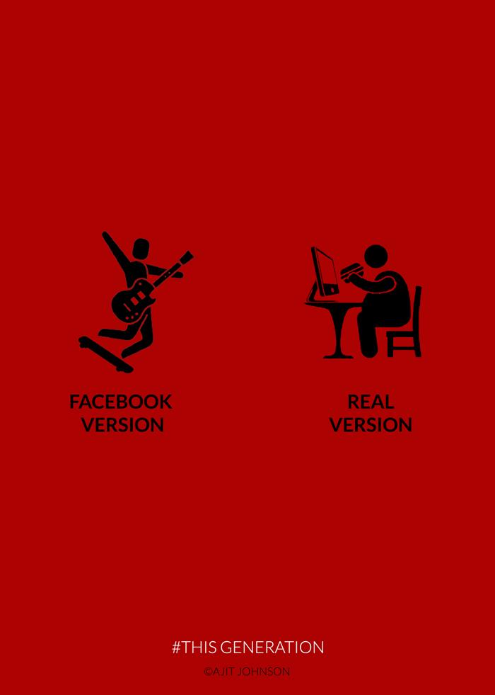 Poster-poster sindiran bagi yang kecanduan gadget, mak jleb!