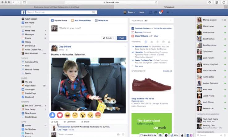 Fitur terbaru Facebook bentuknya bukan 'Dislike', tapi Emoji Reaction