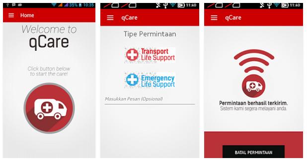 Mahasiswa ITS buat aplikasi yang mudahkan pemangilan ambulans, top!