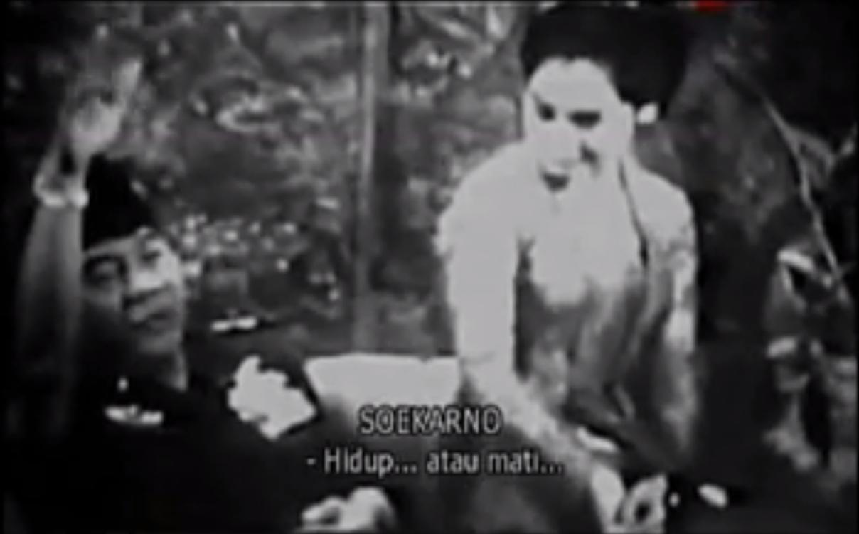 Ini rekaman wawancara terakhir Bung Karno dengan TV Amerika, keren!