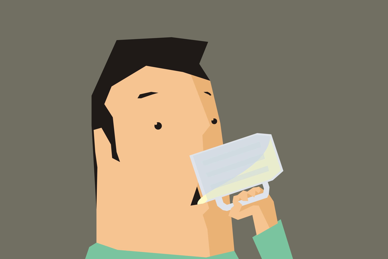 Minum 8 gelas air putih sehari ternyata nggak ngaruh bagi kesehatan
