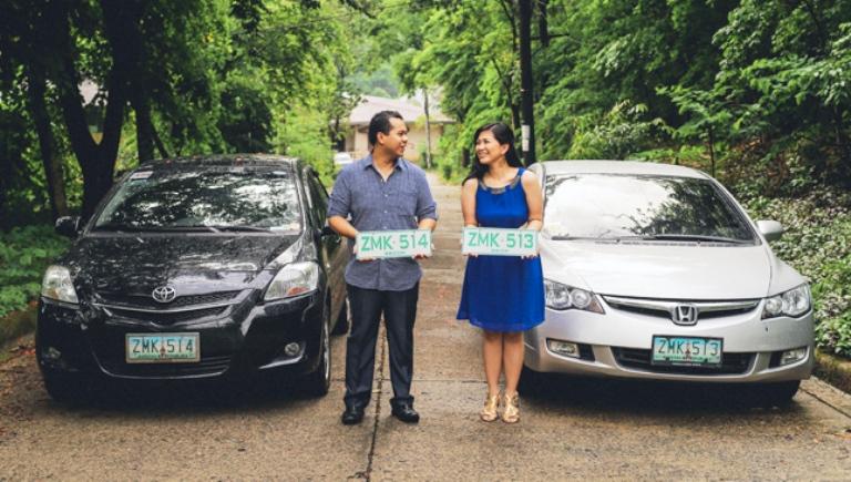 Pernikahan mereka berawal dari pelat mobil, speechless!