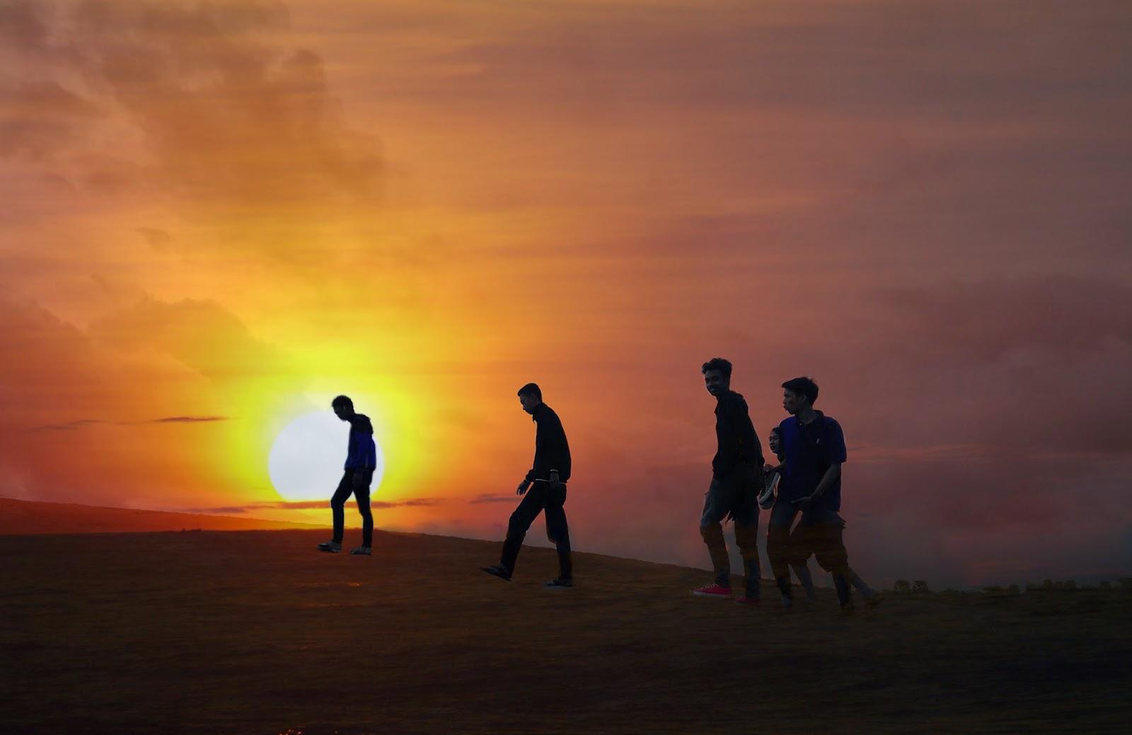 10 Tempat untuk melihat sunset paling epic di Jogja