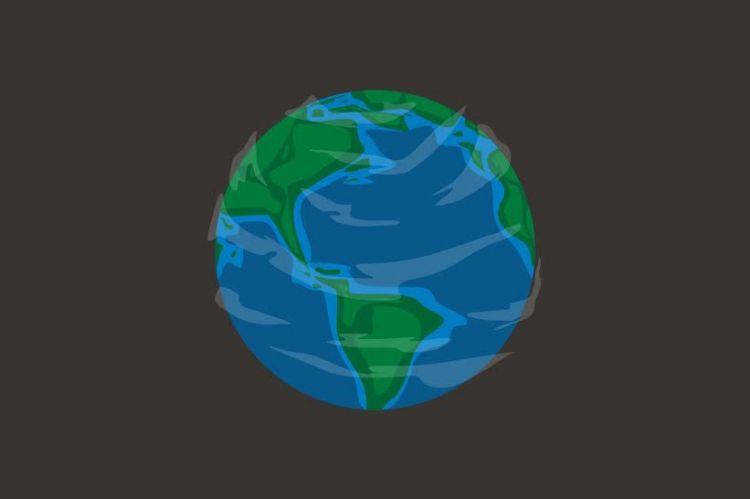Kenapa kamu tak pernah bisa merasakan rotasi bumi?