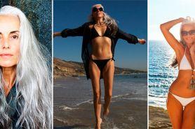 17 Foto keren Yasmina Rossi, nenek cantik penakluk industri mode