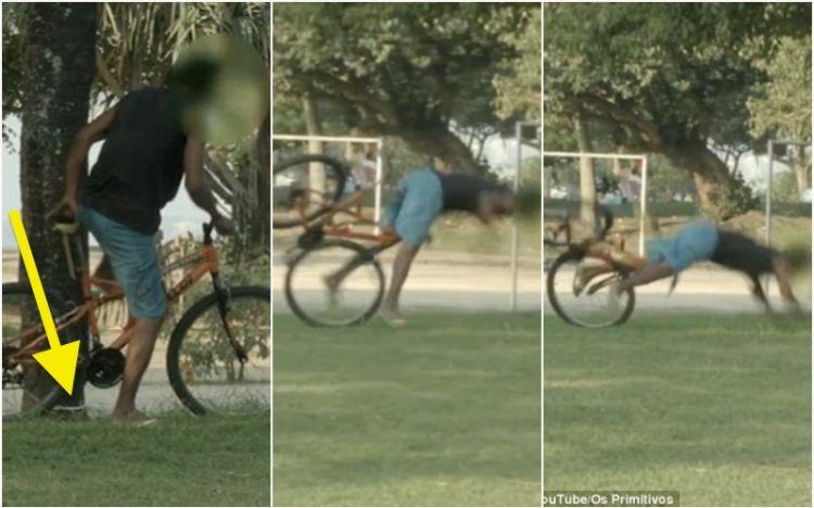 Karma bagi pencuri sepeda, jatuh karena kunci rahasia