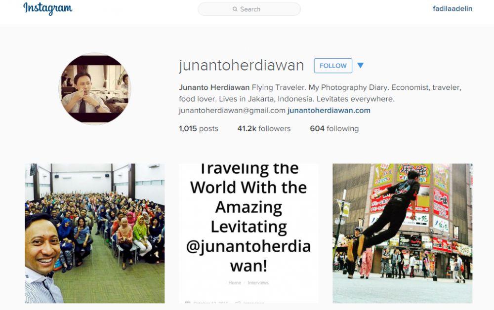 10 Instagram traveler kece Indonesia yang wajib kamu follow!