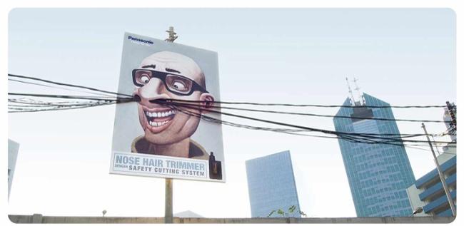 10 Iklan billboard keren dan kreatif, dua di antaranya di Indonesia