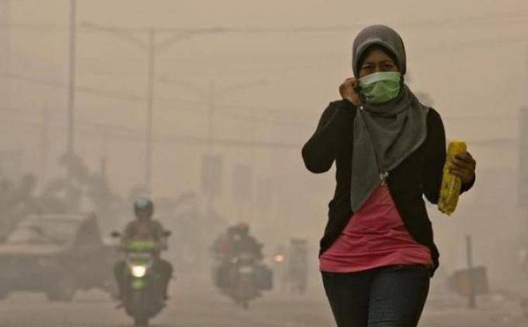Indayani: Alhamdulillah kabut asap mulai reda, sejak turun hujan