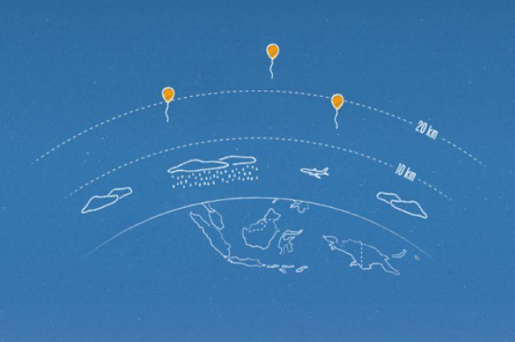 Kabar gembira! Balon internet Google masuk Indonesia tahun depan