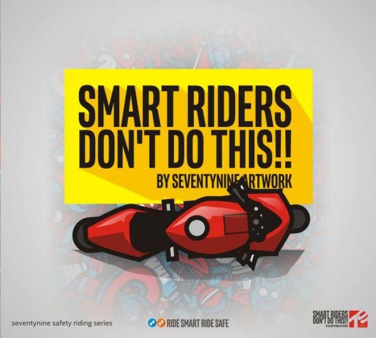 10 Gambar ini bisa membantu kamu berkendara yang aman