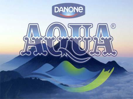logo air minum aqua ternyata mirip banget dengan gunung di