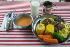 Mencicip menu sarapan ala Amerika buat 'kelas pekerja' di Jogja, top!