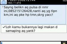 22 Foto balasan SMS mama minta pulsa yang bikin ketawa ngakak