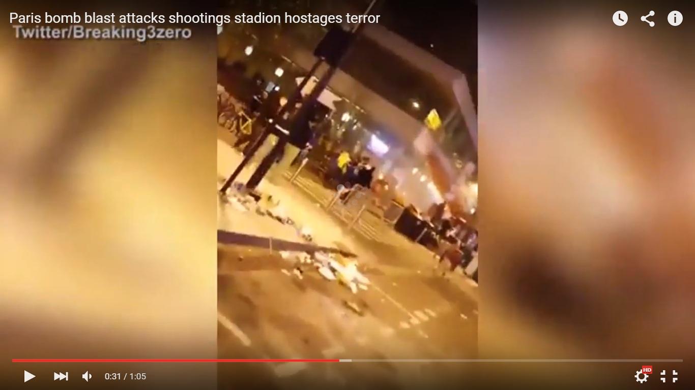 Ini video suasana mencekam stadion dan penjuru kota Paris usai diteror