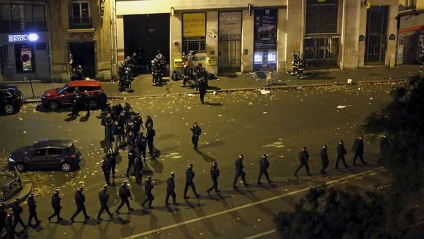 Ini 6 lokasi yang diserang kelompok teroris di Paris