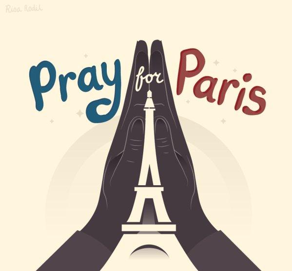 Ini ekspresi duka di Twitter para pemimpin dunia terkait teror Paris