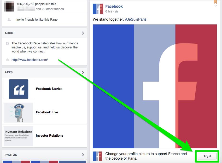 Filter bendera Prancis di Facebook tuai kontroversi, kamu pilih mana?