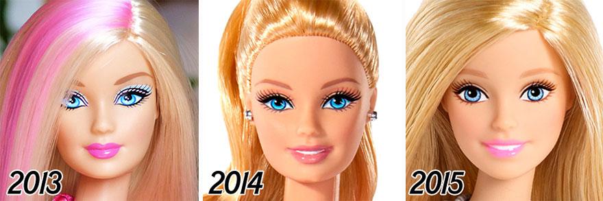 56 Tahun transformasi wajah Barbie ini akan bikin kamu terkagum-kagum!