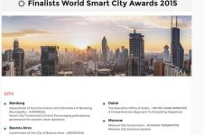 Bandung masuk nominasi 6 kota pintar dunia, kota lain kapan?