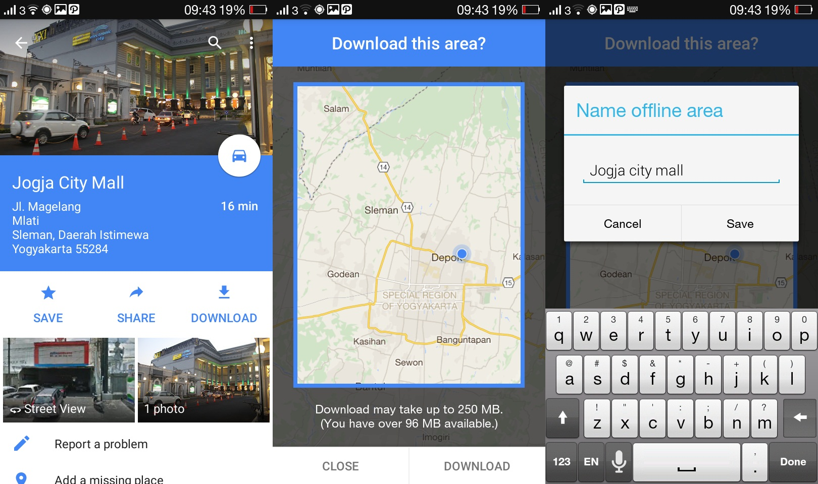 5 Langkah menggunakan Google Maps tanpa koneksi internet