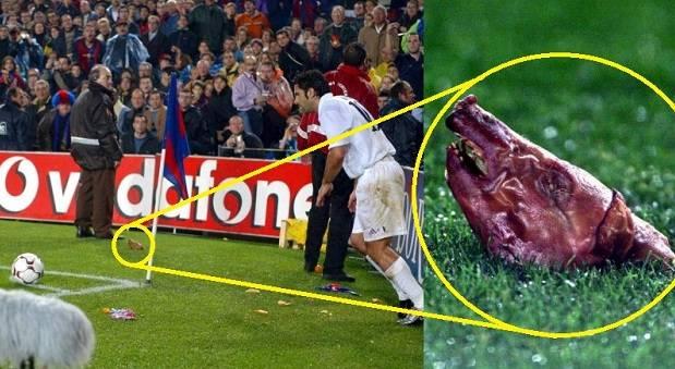 Insiden kepala babi, satu dari 7 momen fenomenal El Clasico