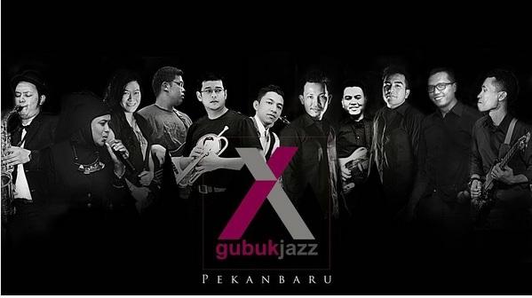 Gubuk Jazz, pengisi Ngayogjazz 2015 yang datang dari Pekanbaru
