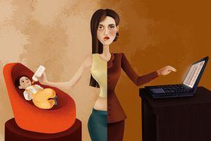 Cara andal jadi wanita karir tanpa abaikan keluarga